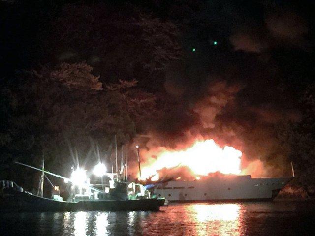 光進丸 沈没!原因は船底亀裂で加山雄三は涙!質問に『また船を買いなおしますか?』